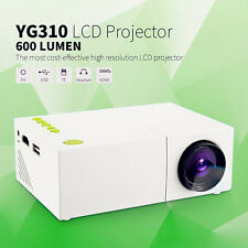 YG310 LCD Projector HD Mini Projector Smart Home Cinema Theather Video Projector