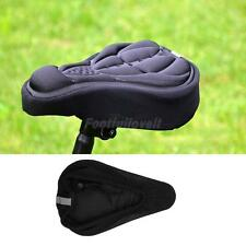 Bike Cycling 3D Soft Saddle Bicycle Seat Cushion Cover w/ Adjustable Drawstring