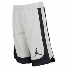 Jordan Varsity Fleece Basketball Shorts, Boy's Size M, L, Gray/Black, NWT