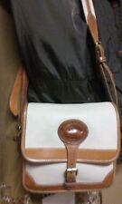 Beautiful Vintage Authentic Dooney and Bourke Surrey Equestrian Crossbody Bag.