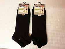 Trainer Ankle Socks Mens Womens Cotton Rich Sport Black 3 6 12 Pairs. *RRP 4.99*