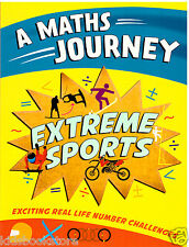 A Maths Journey Puzzle Book - EXTREME SPORTS - NEW