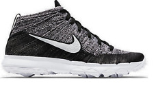 WMNS Nike Flyknit Chukka 819006 Golf Black/Grey-White Weave Elite More Colors