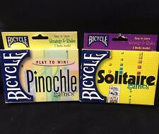 Pinochle & Solitaire Card Games