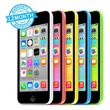 Apple iPhone 5c 16GB 32GB Unlocked SIM Free Smartphone Mobile Phone 5 Colours UK