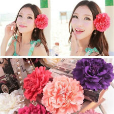 hot Flower Headband Hair Pins Accessories Headpiece Brooch Party Clips new