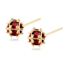 Womens Fashion Crystal Stick Earrings More Color Korean 18K Gold Filled
