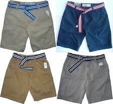 Mens Men's AEROPOSTALE Aero Belted Ripstop Cargo Shorts Longer Length NWT #7188
