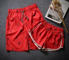 New Men's Swimming Board Shorts Swim Pants Couple Trunks Swimwear Beach Summer
