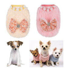 Cute Teacup Dog Clothes Soft Fleece Hoodie Coat for Cat chihuahua yorkie maltese
