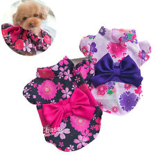Poodle Dog Dress Pet Puppy Skirt Girl Clothing Party Costume F Chihuahua yorkie