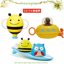 New Skip Hop Zoo Baby Bath Toy Zoo Fountain Submarine Surfers Fun Bath Tub Acces