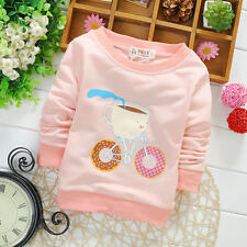 Newborn Baby Girl Fashion Clothing Infant 100% Cotton Cute Tops Toddler Blouse
