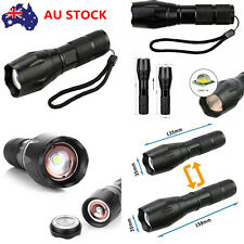 3000LM CREE XML T6 LED Torch Flashlight Rechargeable Zoomable Handheld Mini Lamp