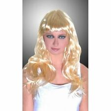 New Blonde Long Straight New Full Cosplay Party Wig Fancy Sexy UK Festival