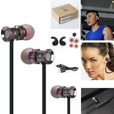 Black -MD53 Sports Bluetooth Stereo Headphone Earphone For Call Phone Huawei /LG