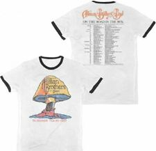 Allman Brothers Vintage Concert T-shirt - The Allman Brothers Band Summer Tour 1