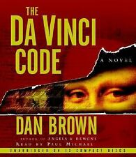 Robert Langdon: The Da Vinci Code 13 CDs by Dan Brown (2003, CD, Unabridged)