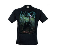 Slayer Black Short Sleeve Mens T-Shirt Soldier Cross Band Metal Rock Official