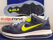 "2012 NIKE LEBRON 9 LOW OBSIDIAN CYBER ""EASTER"" BASKETBALL SHOES 510811 401 SZ 9"