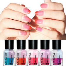 Mood Nail Polish Lacquer Peel Off Temperature Light Colour Changing Varnish 6ML