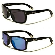 New Locs Mens Womens Hardcore Designer Black Sunglasses UV400 LC8