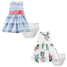 "NWT Carter's Baby Girls' ""Dress Me Up""   Dress & Bloomers Set"