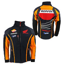 GAS HONDA REPSOL MENS TEAM SOFTSHELL JACKET NAVY MOTOGP 3XL ONLY