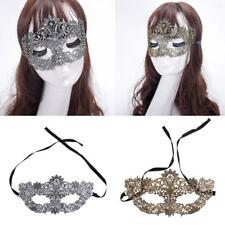Vintage Venetian Lace Eye Mask Masquerade Ball Carnival Costume Prom Photo Prop