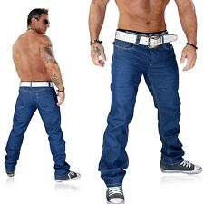 JUSTING Men's Jeans Pants Waxed Blue Kosmo Japan Style Clubwear New 7011