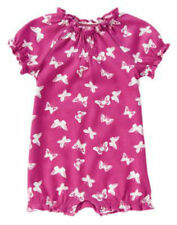 NWT Gymboree Woodside Walk Butterfly Romper 6 12 18mo Baby Girl