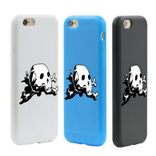 SKULL HEAD TOUCH SCREEN CASE COVER FOR IPHONE 4 5 6 SAMSUNG GALAXY S5 S7 HONEST