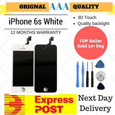 for iPhone 6S White LCD Screen Replacement Digitizer Touch Display Assembly Au