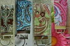 Short Key Fob~Various Designs and colors~ ~Key Chain~Flash drive holder