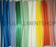 "2,000 Twist Ties 7"" Length Plastic Coated No Rip Paper Ties Cello General Use"