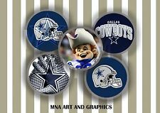 Dallas Cowboys inspired themed bottle cap IMAGES 1 inch - Dallas Cowboys America