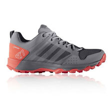 Adidas Kanadia 7 TR Womens Grey Waterproof Running Sports Shoes Trainers