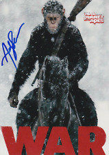 War For The Planet Of The Apes - 010 - Cast Signed by Andy Serkis Glossy REPRINT