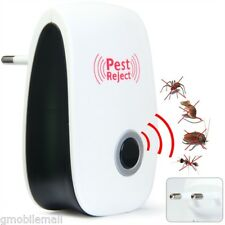 Ultrasonic Electronic Mouse Bug Pest Repeller Mosquito Insect Cockroach Rejector