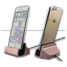 Sync Data Cable USB Charger Dock Station Stand Cradle Charging For iPhone 7 6 6S