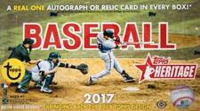 2017 Topps Heritage Baseball Base and SP Singles U PICK You Complete Your Set