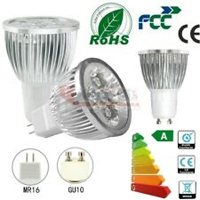 4 12 20x 6W GU10 MR16 LED Bulbs Spotlight Lamps High Power Warm Day White Light