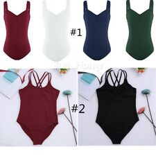 Adult Ballet Leotard Dance Gymnastics Dance Leotard Sleeveless Clothes Dancewear