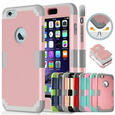 Hybrid Protective Shockproof Hard Case Cover Shell For iPhone 6 6s 4.7 Plus 5 5s