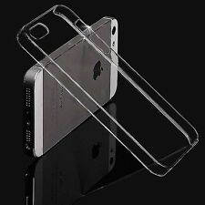 Wholesale Ultra Thin Clear Glossy Hard Back Case Cover For Apple iPhone 5/5s Hot