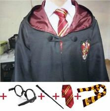 Harry Potter Robe Cloak with Tie Scarf Wand Glasses - Harry Potter - Book Week