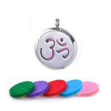 Reiki Style Unisex Aromatherapy Lockets made of 316L Surgical Stainless Steel