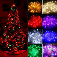 10M 100 LED Christmas Fairy String Party Lights Lamp Xmas Outdoor Waterproof
