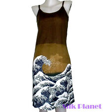 HOKUSAI Great Wave Tsunami JAPANESE PAINTING ASIAN ART PRINT TANK DRESS SHIRT