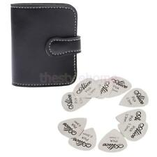MagiDeal Pick Holder Stainless Steel Guitar Plectrum Picks Guitar Part New